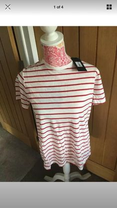 f989f12e1dd15 BNWT Next Maternity Red And White T-Shirt Size 12 #fashion #clothing #