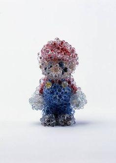 Mario Toy, by Kohei Nawa
