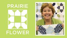 """SCROLL DOWN & Find the Words, """"Next Page"""" Highlighted in Larger Color Text to Watch the Video Tutorial on How to Make an Easy Prairie Flower Quilt It's a new year and Jenny from Missouri Star Quilt Company is back to show us how to make a beautiful and easy, Prairie Flower Quilt. This may sound …"""