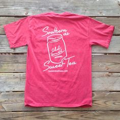 """""""Southern as Sweet Tea"""" Short Sleeve – Old South Apparel $26.99 Southern Sweet Tea, Southern Prep, Affair, Cute Outfits, Ootd, Passion, Boutique, Country, My Style"""