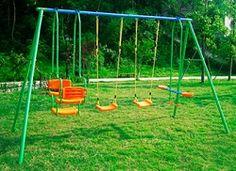 Comprar Playground infantil completo com 2(dois) balanços individuais: 1(um) balanço duplo e 1(um) balanço vai e vem Brink para crianças de 3 a 8 anos. http://hcompras.com/playground-infantil-com-dois-balancos-individuais-e-um-duplo-vai-e-vem-brink/