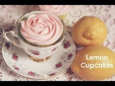 This girl is crazy good!:) Mother's Day Lemon Cupcakes