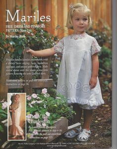 Sew Beautiful Martha Pullen May/June 2000 Heirloom Sewing Curved Smocking - Baby & Children's Clothing Little Girl Dresses, Girls Dresses, Dress Patterns, Sewing Patterns, Smocking Baby, Sewing Magazines, Beautiful Outfits, Beautiful Clothes, Christening Gowns