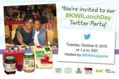 2015 National Take Your Parents to Lunch Day Twitter Party