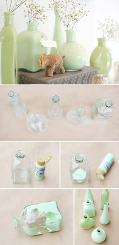 Craft ideas using glass and color