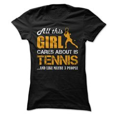 All this Girl 【title】 Cares About Is Tennis...And Like Maybe ᐊ 3 People (Orange)All this Girl Cares About Is Tennis...And Like Maybe 3 People  Get this special hoodie or shirt and tell the world!tennis, sport, girl, cool, cheap, sale, deal, black friday, cyber monday