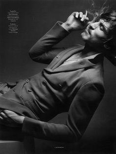 """Jarrod Scott by Sølve Sundsbø in """"L'Affranchi"""" for Vogue Hommes International Spring / Summer 2013"""