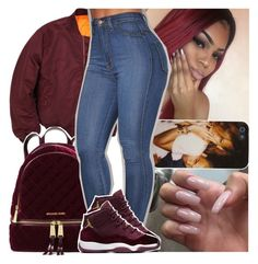 """Rico Nasty x Moves❄"" by daeethakidd ❤ liked on Polyvore featuring MICHAEL Michael Kors"
