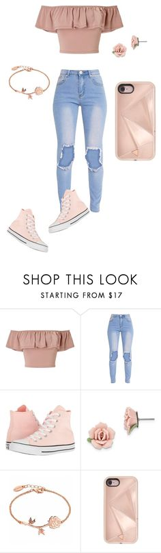 """30 members!"" by obsessedbug on Polyvore featuring Miss Selfridge, Converse, 1928 and Rebecca Minkoff"