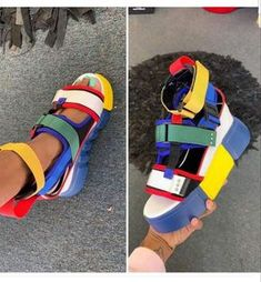 Platform Sandals - It's Easy To Purchase Shoes When You Are Aware How Hot Shoes, Shoes Sneakers, Women's Shoes, Baskets, Block Sandals, Fall Booties, Sandals Outfit, Fila Sandals, Gucci