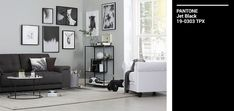 Black (and white) never go out of style - update a classic monochrome aesthetic with a mix of modern and trendy details 2018 Interior Trends, Decor Interior Design, Interior Decorating, Out Of Style, Monochrome, Gallery Wall, Aesthetics, Black And White, Classic