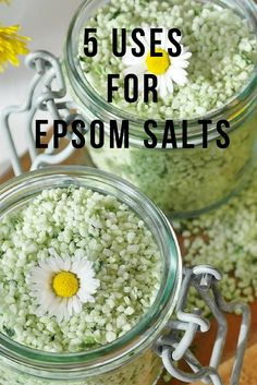 Awesome uses for Epsom Salts which will save you money too!