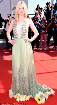 Glam girls:Elle Fanning and Nicole Kidman proved their hectic schedules would never stop ...