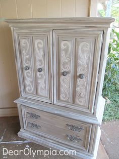 Le Grande Lady – French Country Armoire