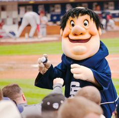 San Diego Padres Swinging Friar Mascot