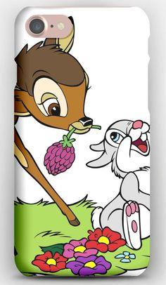 iPhone 7 Case Bambi, Thumper, Friends, Cartoon