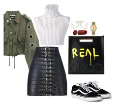 """Untitled #311"" by cafria29 ❤ liked on Polyvore featuring Baja East, Manokhi, Gucci, CÉLINE and Rolex"