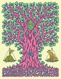 Street Grapes — The Tree of Balance Art Print
