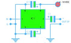 Simple and Cheap amplifier with IC TA7368P