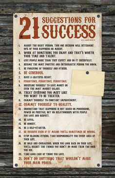 21 Suggestions for Success Poster for Jim Dudley Quarter Horses | Flickr - Photo Sharing!