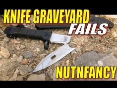 Knife Grave Yard Fails: You Won't Believe Our Results - YouTube