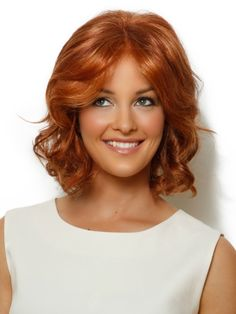 Medium Length Hairstyles curly for square faces