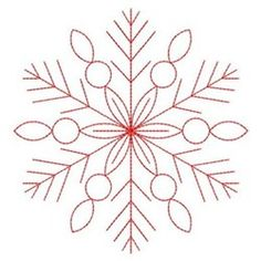 Redwork Snowflakes Embroidery Designs, Machine Embroidery Designs at EmbroideryD… Redwork Snowflakes Embroidery Designs, Machine Embroidery Designs at EmbroideryDesigns… Snowflake Embroidery, Christmas Embroidery Patterns, Crewel Embroidery Kits, Paper Embroidery, Learn Embroidery, Machine Embroidery Patterns, Vintage Embroidery, Embroidery Ideas, Embroidery Supplies