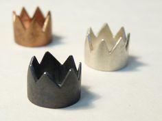 cute little crown ring