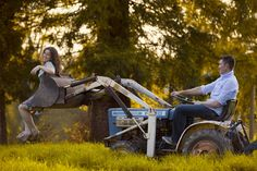 love this picture! I wonder if we can do this with our tractor!??
