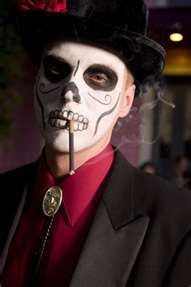 Dia De Los Muertos Costume guy
