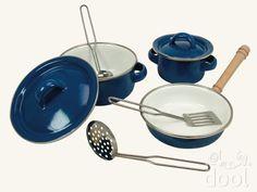 Sada smaltovaného nádobí