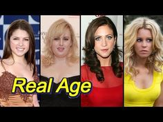 Real Age Of Pitch Perfect 3 Actors - YouTube