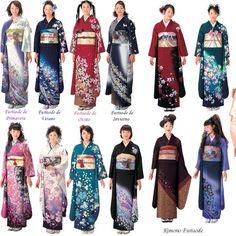 Vestimenta tradicional: Hanbok, Kimono y Hanfu Traditional Kimono, Traditional Outfits, Hanfu, Oriental Fashion, Asian Fashion, Classic Outfits, Trendy Outfits, Kimono Tradicional, Traditioneller Kimono