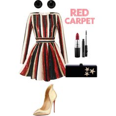 A fashion look from October 2015 featuring Zuhair Murad dresses, Christian Louboutin pumps and Edie Parker clutches. Browse and shop related looks.