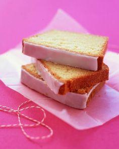 Glazed Lemon Pound Cake  M.S.