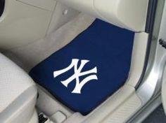 MLB - Car Mats 2 Piece Front - New York Yankees.  Buy it @ ReadyGolf.com