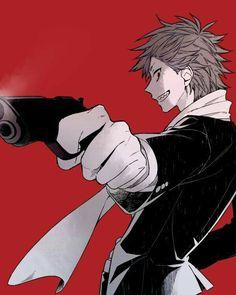 Kirishima Eijirou, gun, cool; My Hero Academia