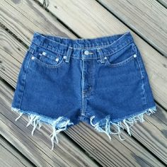 Ralph Lauren Jean Shorts Dark wash, cut off jean shorts. Ralph Lauren Shorts Jean Shorts
