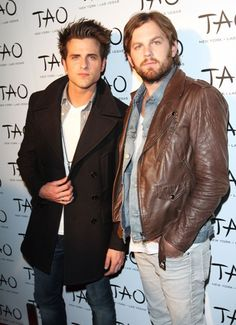 Hotties of the Day - Jared Followill and Caleb Followill