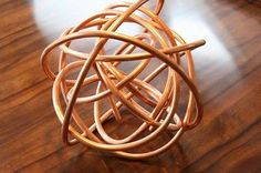abstract copper knot #followitfindit
