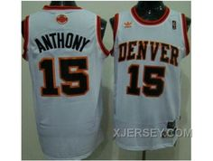 http://www.xjersey.com/for-sale-nba-denver-nuggets-15-anthony-throwback-white.html FOR SALE NBA DENVER NUGGETS #15 ANTHONY THROWBACK WHITE Only 32.17€ , Free Shipping!