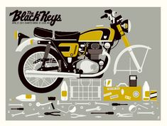 black keys motorcycle