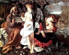 Caravaggio, Riposo durante la fuga in Egitto, 1596-1597
