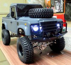 * 313 mm * 1/10 Land Rover Defender D90 Pick Up Truck Hard Plastic Body Kit NIB #sylvian1975