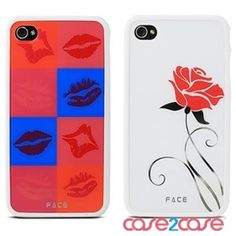Face iphone 4 case with two back cover $26.99 free shipping