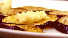 Grilled Eggplant with Marinated Fetta