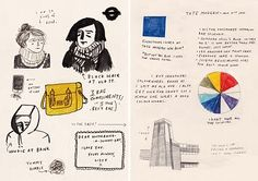 visual diary by Lizzy Stewart