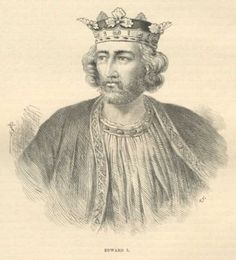 King Edward I (1239-1307), also known as Edward Longshanks and the Hammer of the Scots, was King of England from 1272 to 1307.