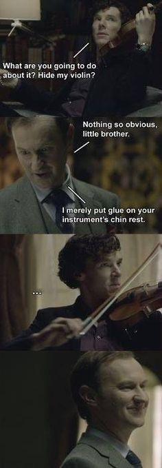 Oh Mycroft. I wish this happened.