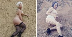 Ms Barber poses in another Kim Kardashian snap, explaining the reality TV star was her first source of material for the project Kim Kardashian, Kendall, Vivre Healthy, Boy Band, Star Wars, Picture Day, Natural Women, Miranda Kerr, Bored Panda